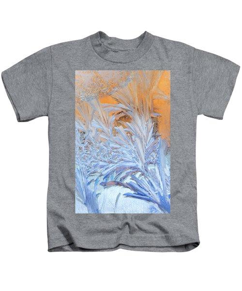 Frost Patterns On Window Kids T-Shirt