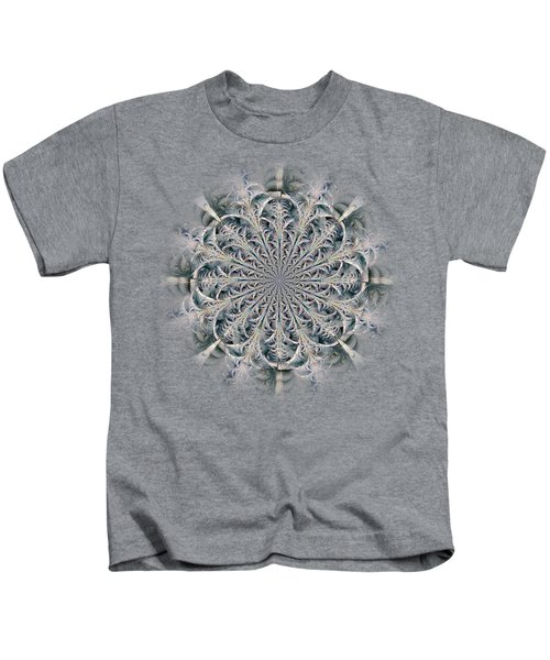 Frost Seal Kids T-Shirt by Anastasiya Malakhova