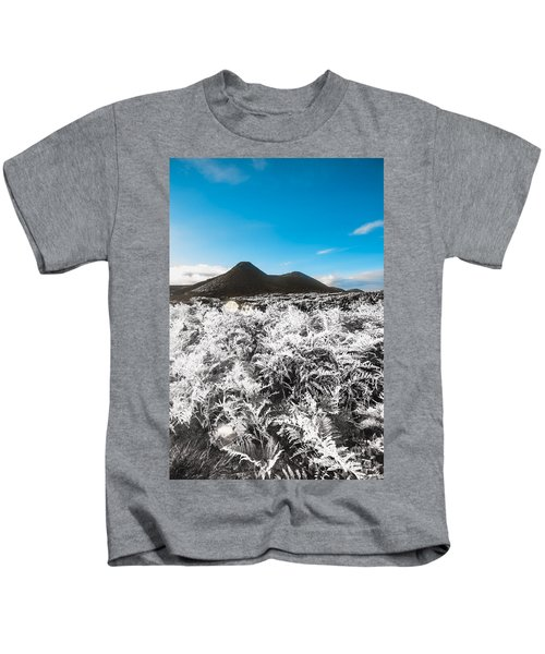 Frosted Over Hinterland Kids T-Shirt