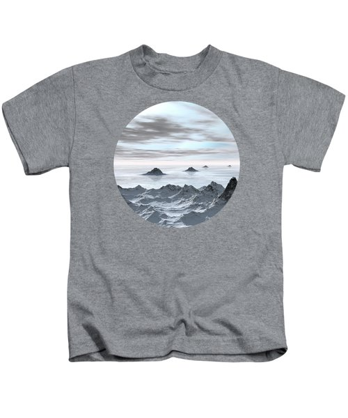 Frozen Arctic Sea Kids T-Shirt