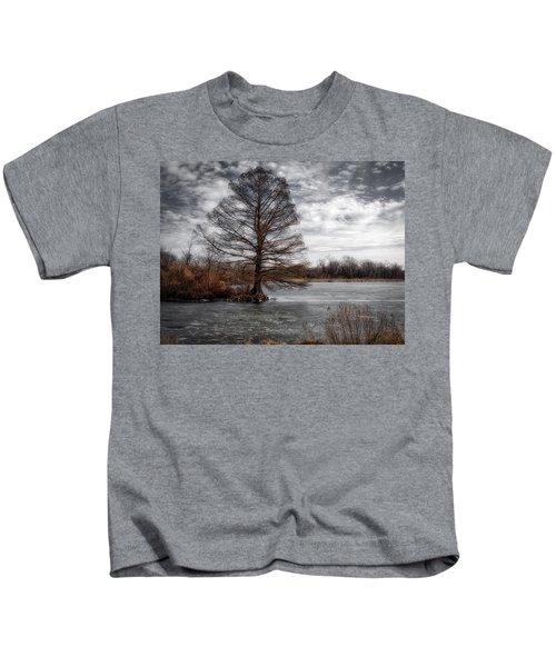 Frozen Lake Kids T-Shirt