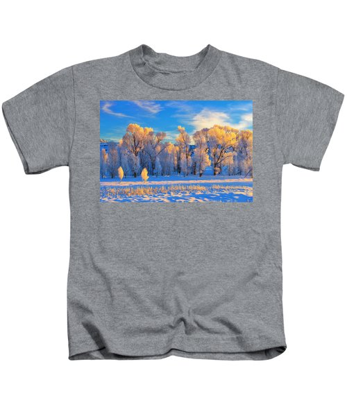 Frozen Sunrise Kids T-Shirt