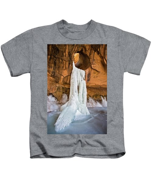 Frozen Waterfall Kids T-Shirt