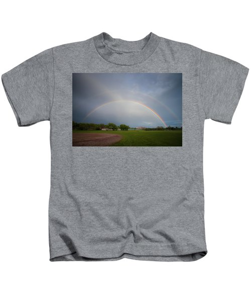 Full Double Rainbow Kids T-Shirt