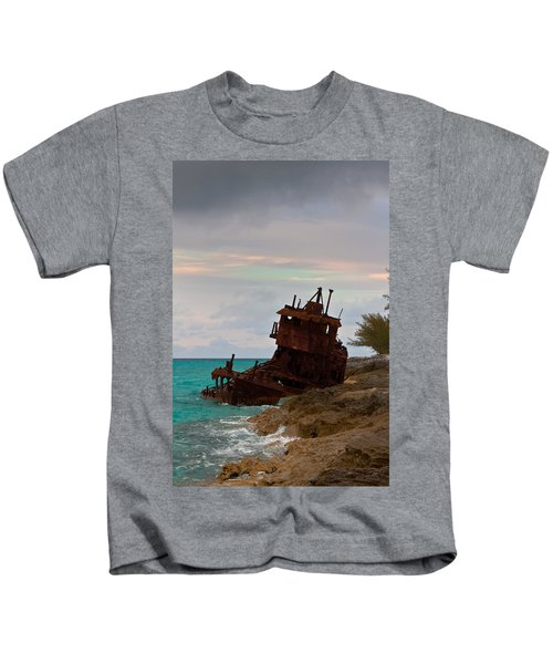 Gallant Lady Aground Kids T-Shirt