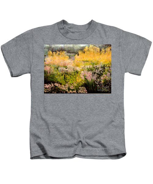 Garden In Northern Light Kids T-Shirt