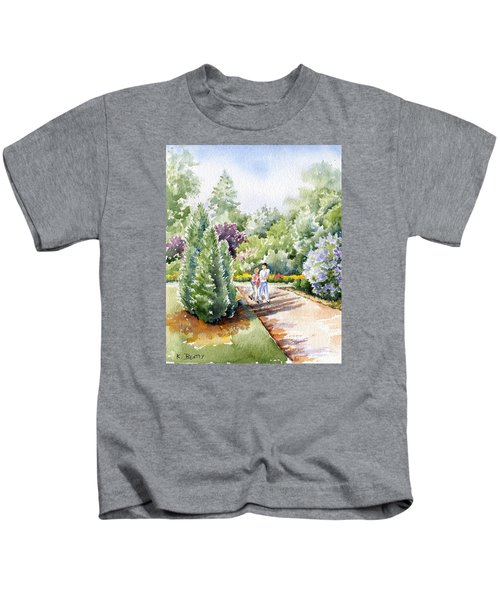 Garden Walk Kids T-Shirt