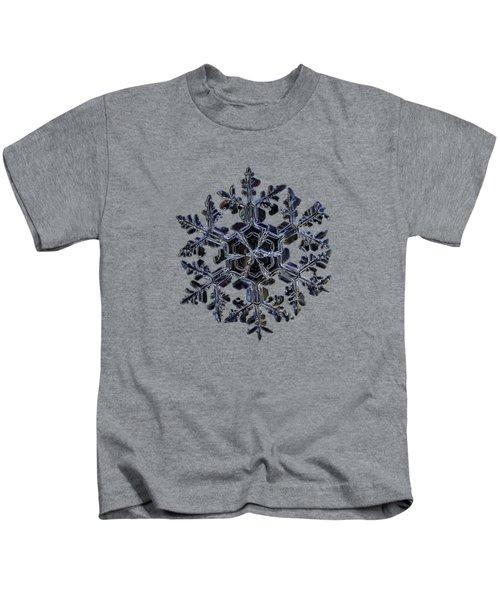 Gardener's Dream, Dark On Black Version Kids T-Shirt