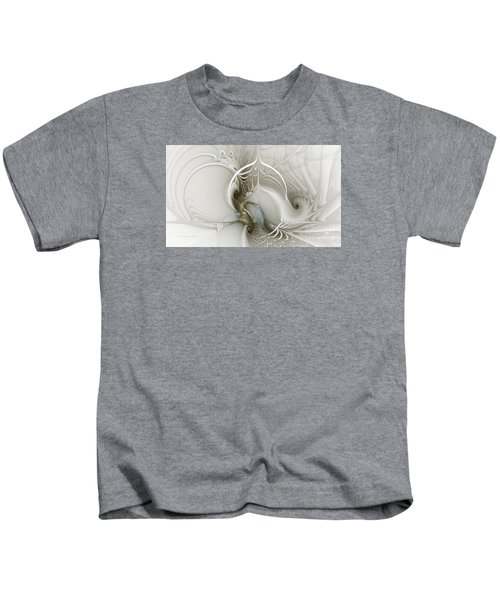 Gateway To Heaven-fractal Art Kids T-Shirt