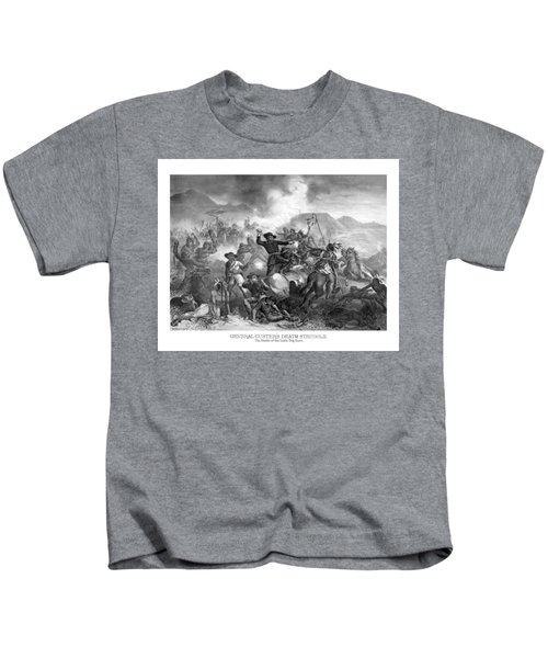 General Custer's Death Struggle  Kids T-Shirt