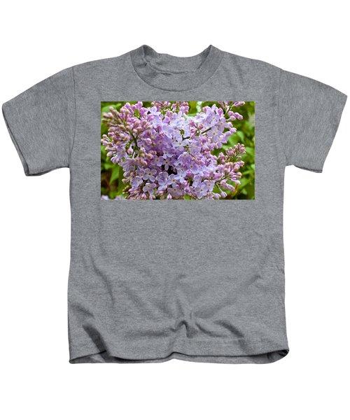 Gentle Purples Kids T-Shirt