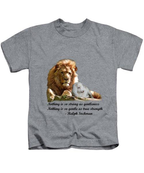 Gentle Strength Kids T-Shirt