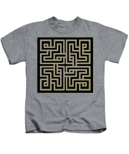 Geo Pattern 5 - Transparent Kids T-Shirt