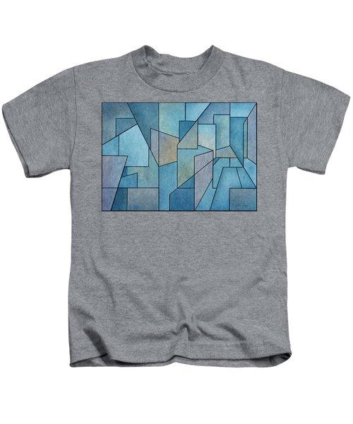 Geometric Abstraction IIi Kids T-Shirt