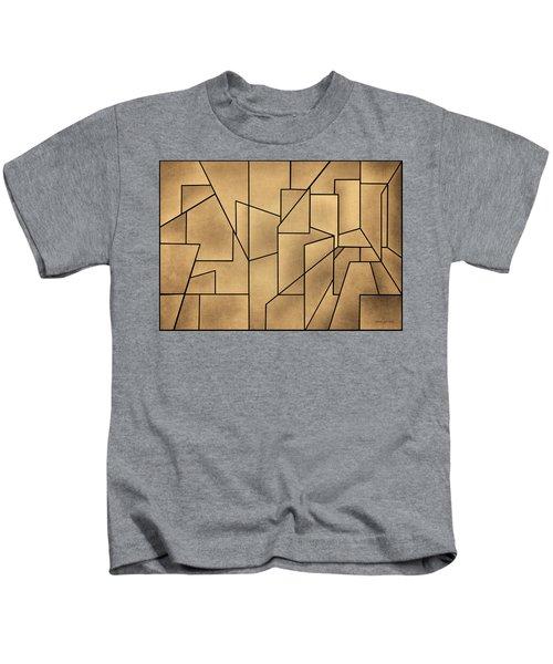 Geometric Abstraction IIi Toned Kids T-Shirt