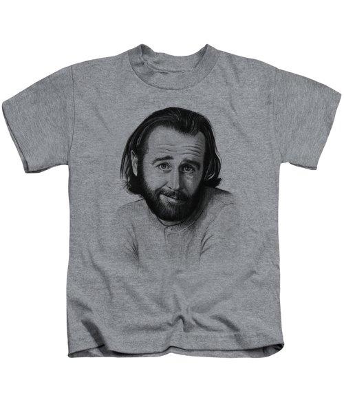 George Carlin Portrait Kids T-Shirt