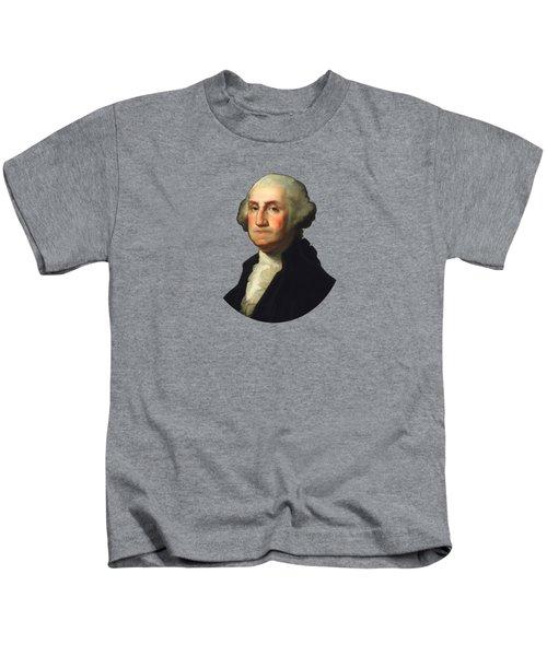 George Washington - Rembrandt Peale Kids T-Shirt