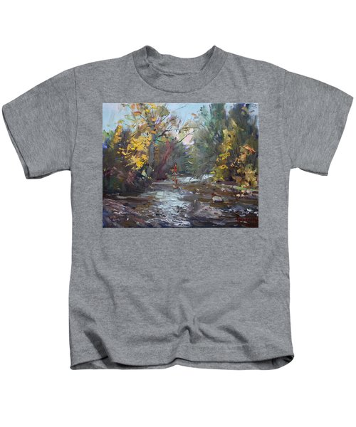 Georgetown Fall Colors Kids T-Shirt