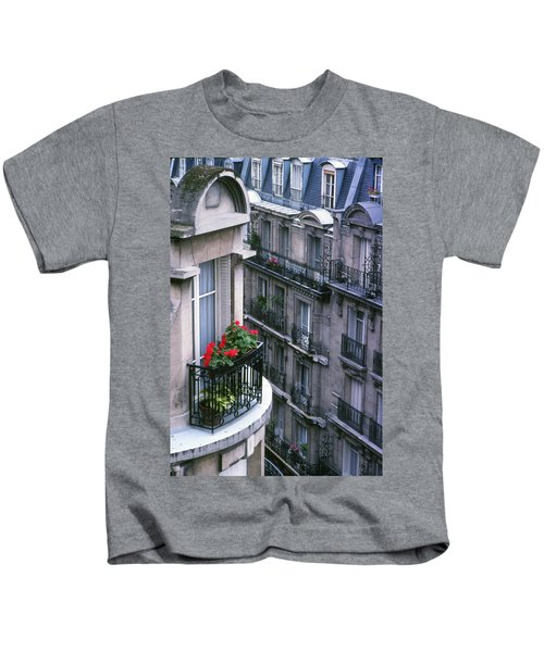 Geraniums - Paris Kids T-Shirt