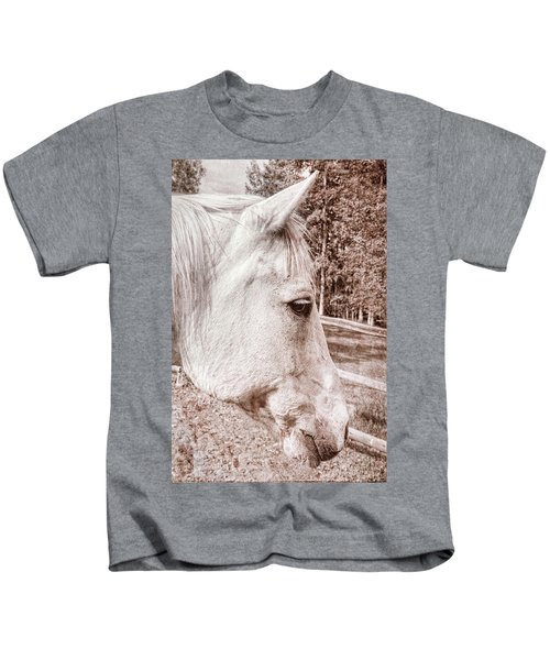 Get My Good Side, Please Kids T-Shirt