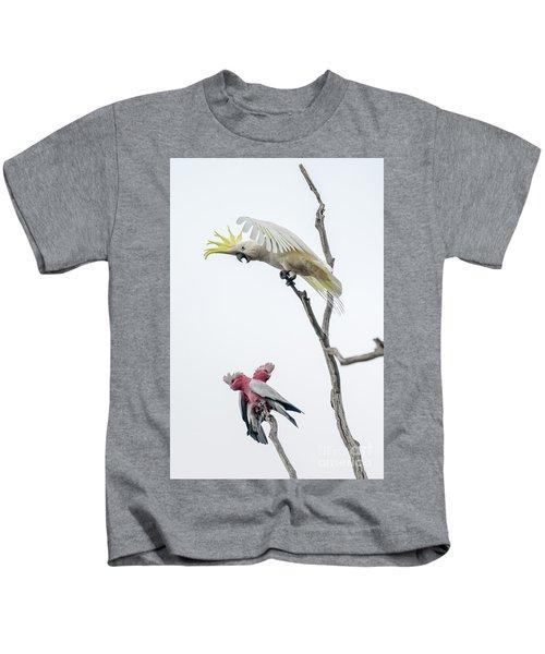Get Off My Perch Kids T-Shirt