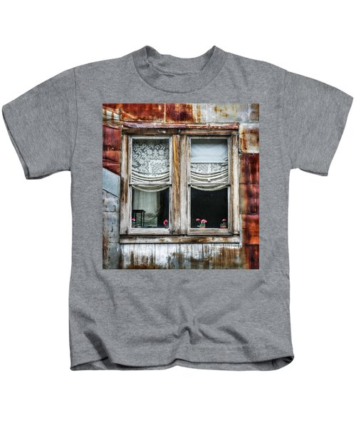Ghost Town Window - St. Elmo Kids T-Shirt