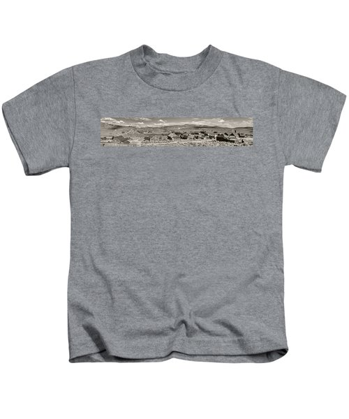 Ghostly Panorama Tobacco Kids T-Shirt