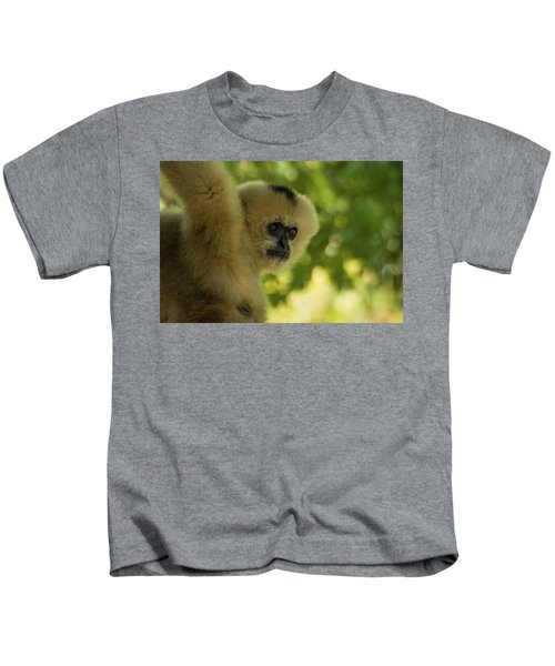 Gibbon Portrait Kids T-Shirt