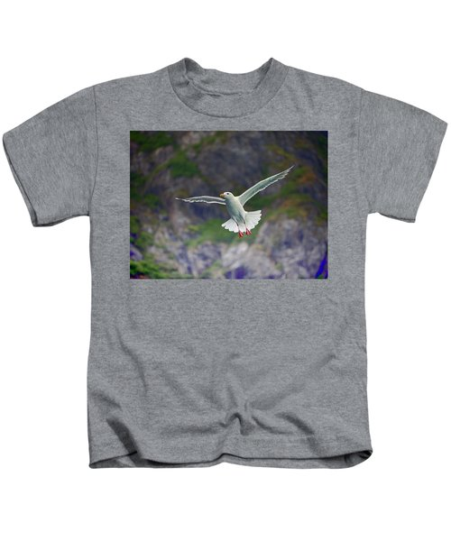 Glaucous-winged Gull Kids T-Shirt