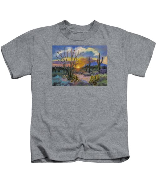 God's Day - Sonoran Desert Kids T-Shirt