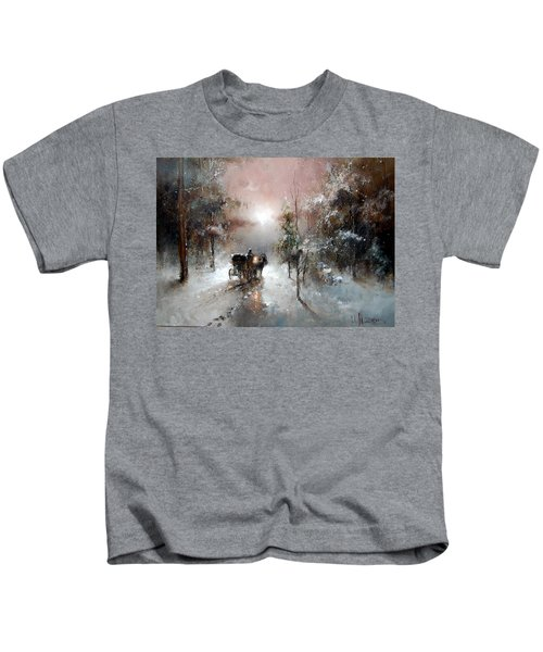 Going For Visit Kids T-Shirt