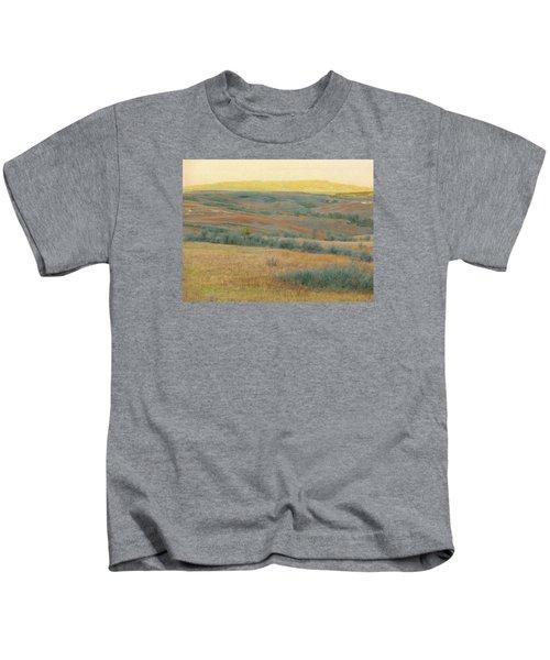 Golden Dakota Horizon Dream Kids T-Shirt