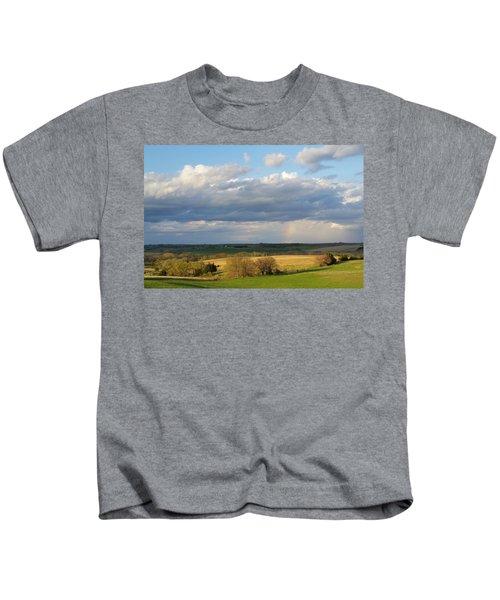 Golden Prairie Rainbow Kids T-Shirt