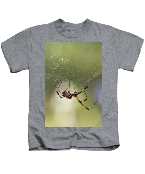Golden-silk Spider Kids T-Shirt