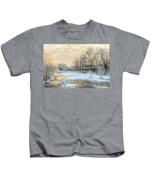 Golden Sunrise Signed Kids T-Shirt