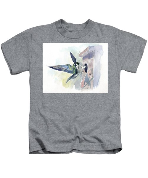 Golden Swallow Kids T-Shirt