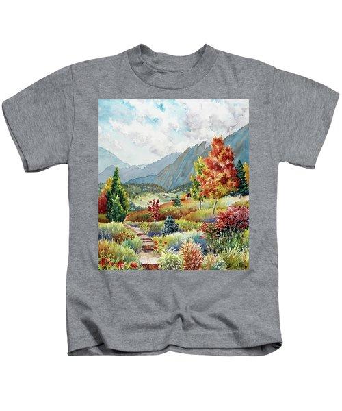 Golden Trail Kids T-Shirt