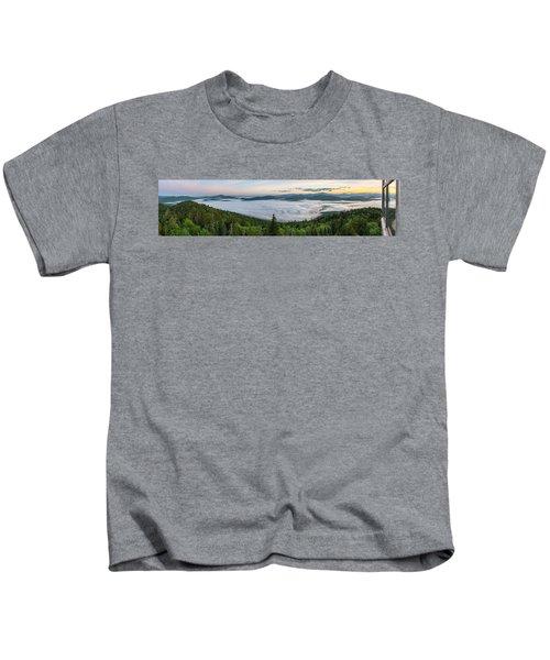 Goodnow Mountain Panorama Kids T-Shirt