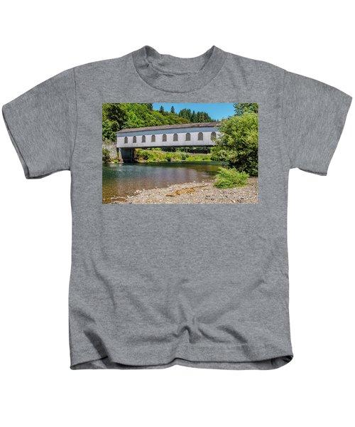 Goodpasture Covered Bridge Kids T-Shirt