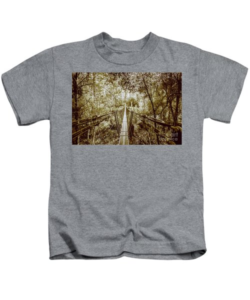 Gorge Swinging Bridges Kids T-Shirt