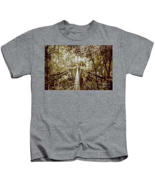 Gorge Swinging Bridges Kids T-Shirt