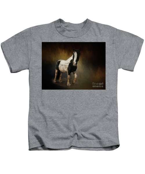Gorgeous Gypsy Horse Kids T Shirt