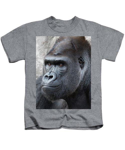 Gorillas In The Mist Kids T-Shirt