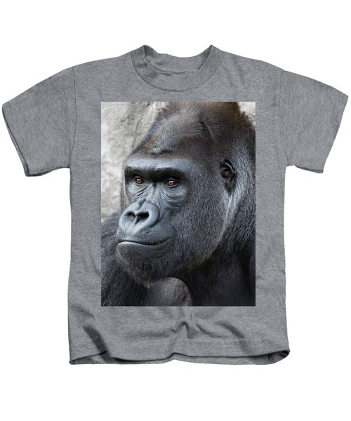 Gorillas In The Mist Kids T-Shirt