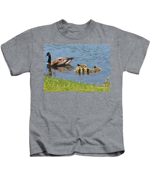 Goslings Gathering Kids T-Shirt