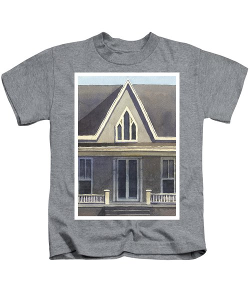 Gothic American, New Harmony, In Kids T-Shirt