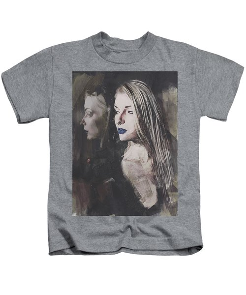 Gothic Mirror Echo Kids T-Shirt