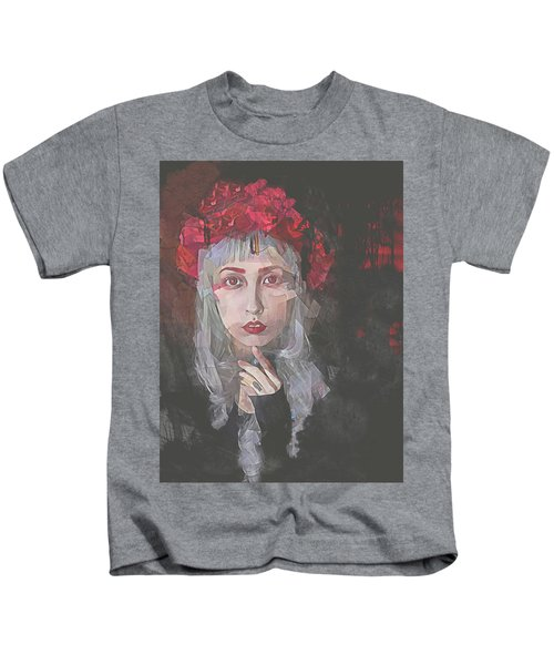 Gothic Petal Kids T-Shirt