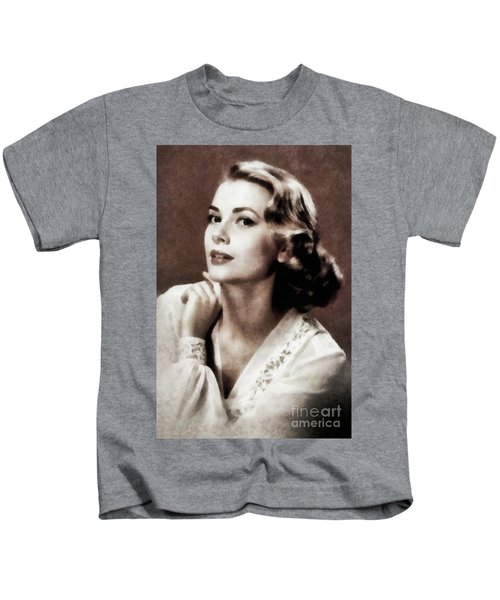 Grace Kelly, Actress, By Js Kids T-Shirt
