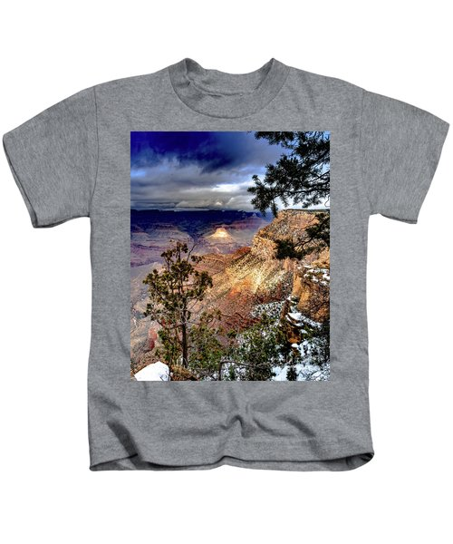 Grand Canyon In Winter Kids T-Shirt